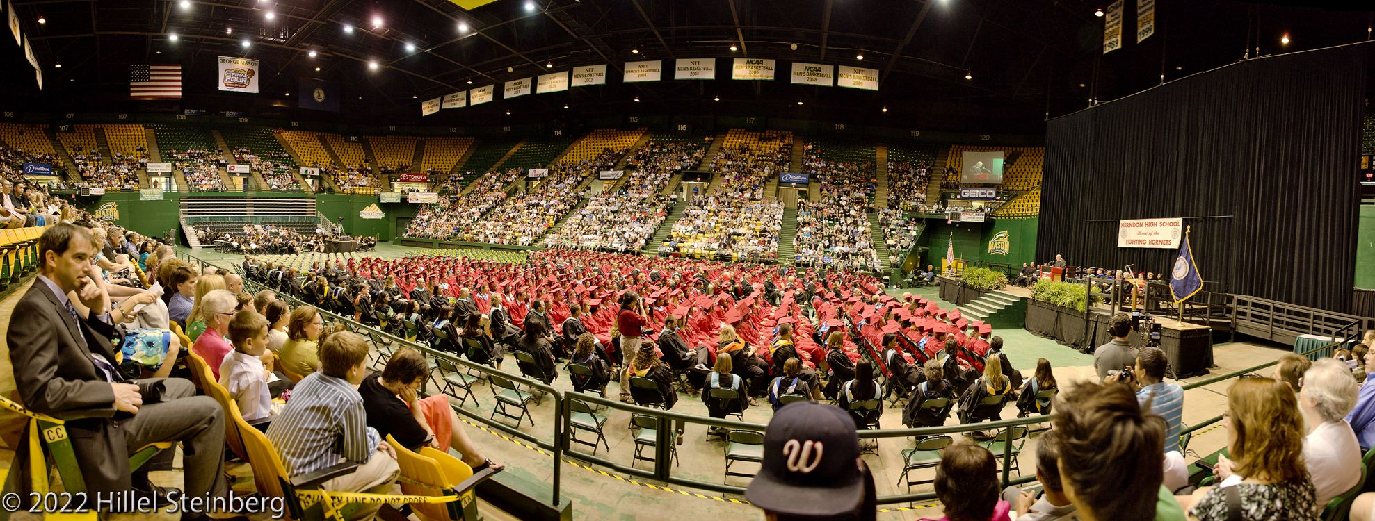 Herndon Graduation Panorama