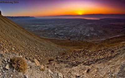 Masada Midpoint Panorama