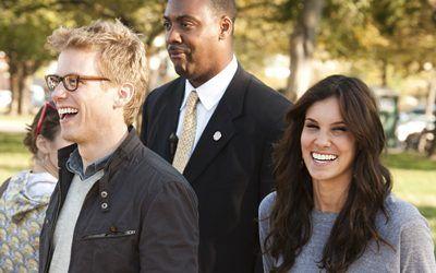 Barrett Foa & Daniela Ruah of NCIS: Los Angeles