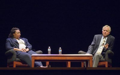 Richard Dawkins and Jamila Bey