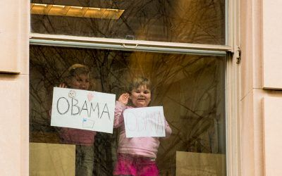 Small Obama Supporters
