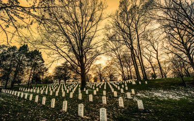 Arlington Cemetery Sunset