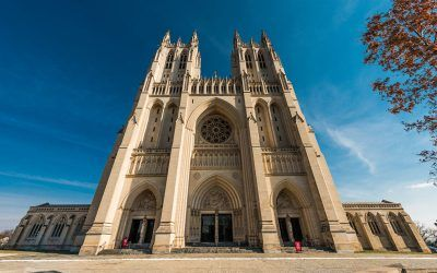 National Cathedral Wide Front