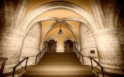National Cathedral Chapel Exit